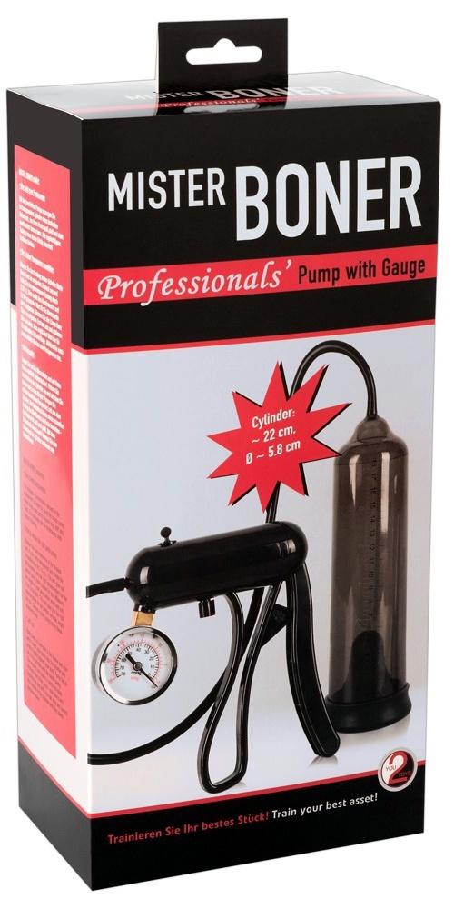 Mister Boner Professionals Pump with gauge
