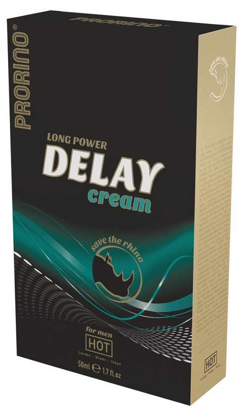 Long Power Delay Cream, 50 ml